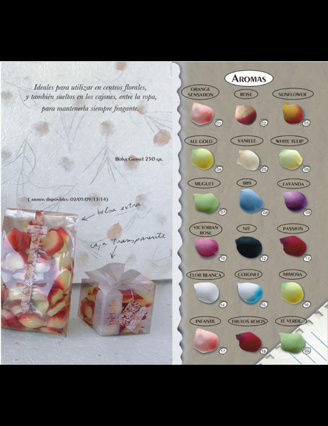 PETALAS Caixa Transparente Frutos Rojos 070018 - CB070253