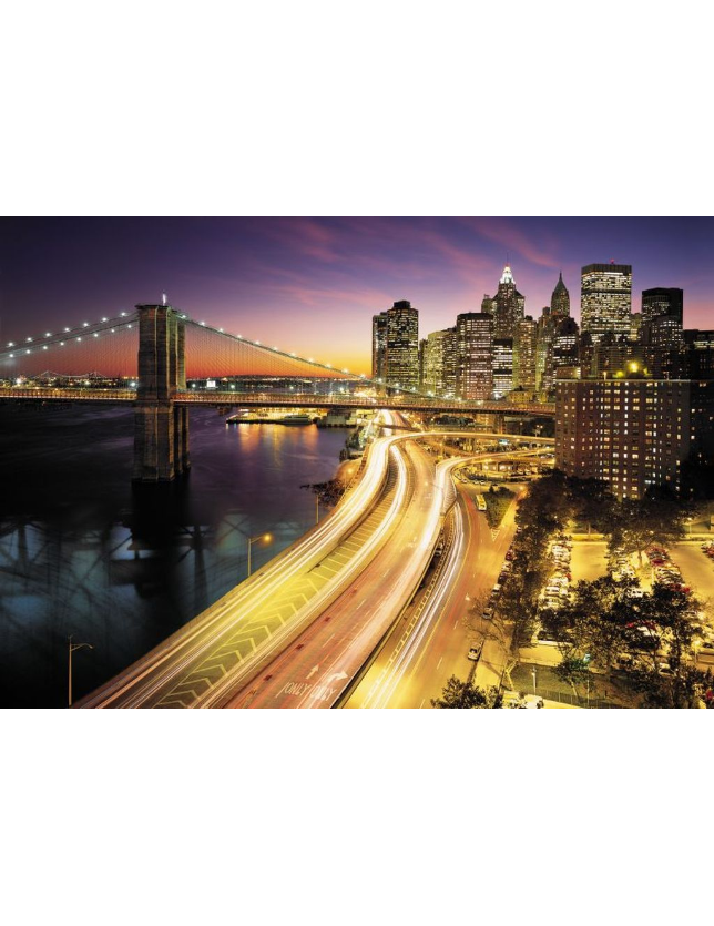 08.516 POSTER P/PAREDE NYC LIGHTS 368*254 CM