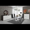 CONJUNTO SALA JANTAR NB 600 (Aparador + Bar + Mesa + 4 Cadeiras)