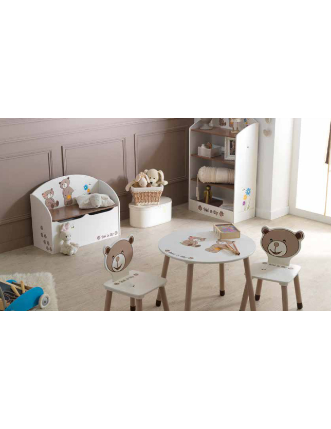 ARCA BAU TED&LILY (KIT) CHOCOLAT/BEGE- 234549
