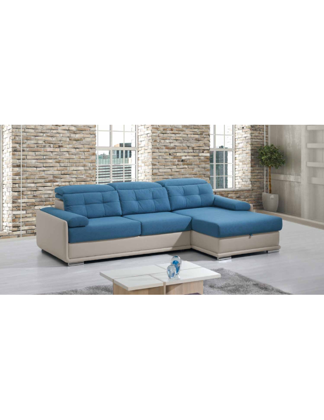 SOFA 3 LUG + CHAISE DAYTONA - A