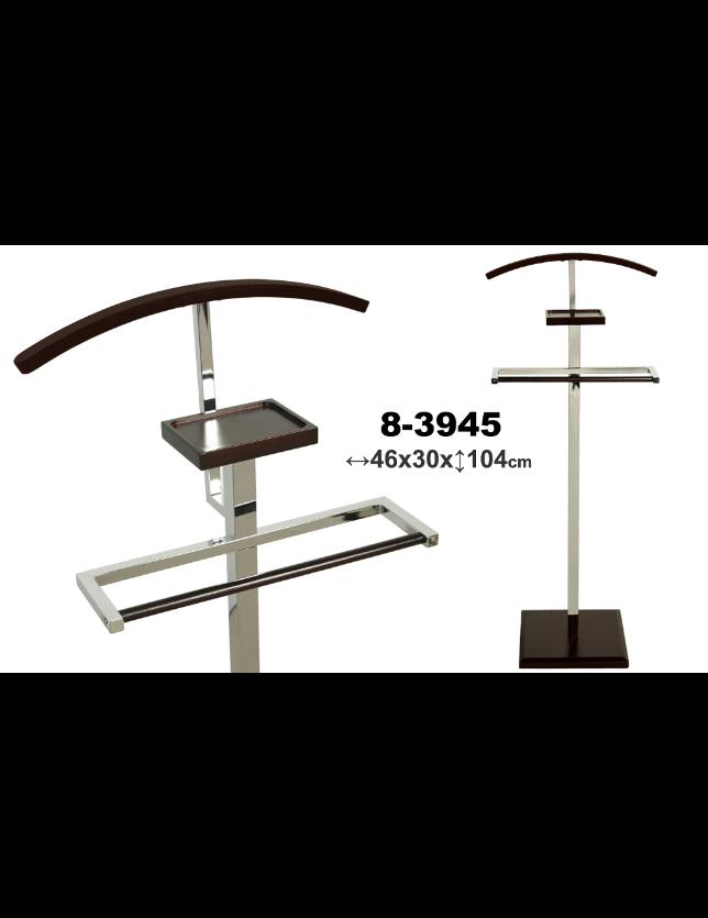 CABIDE METAL / MADEIRA WENGUE 104CM - 83945