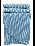 COLCHA 230*270 AZUL PETROLEO STONEWASHED - 96081167
