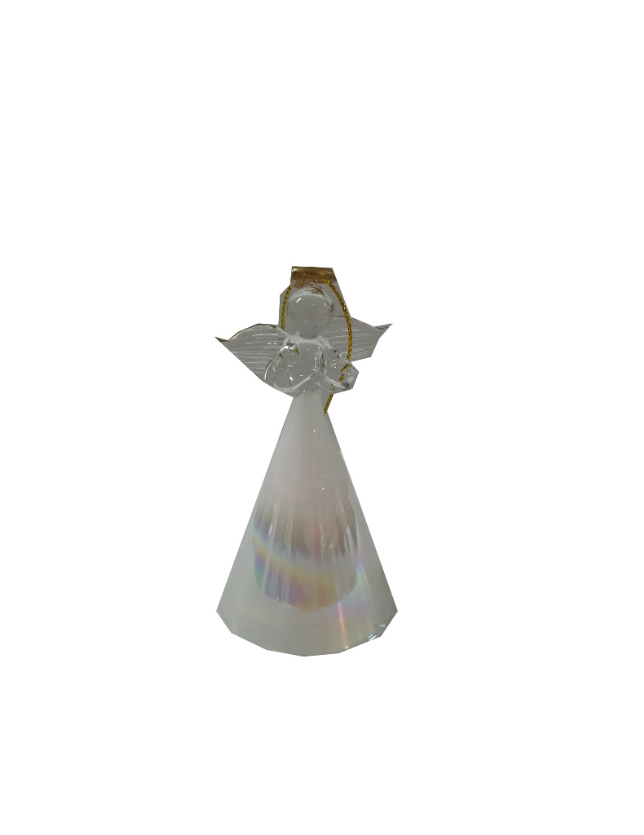 FIGURA ANJO VIDRO DISPLAY C/ 1 LED 0.04W - GLO23210-12