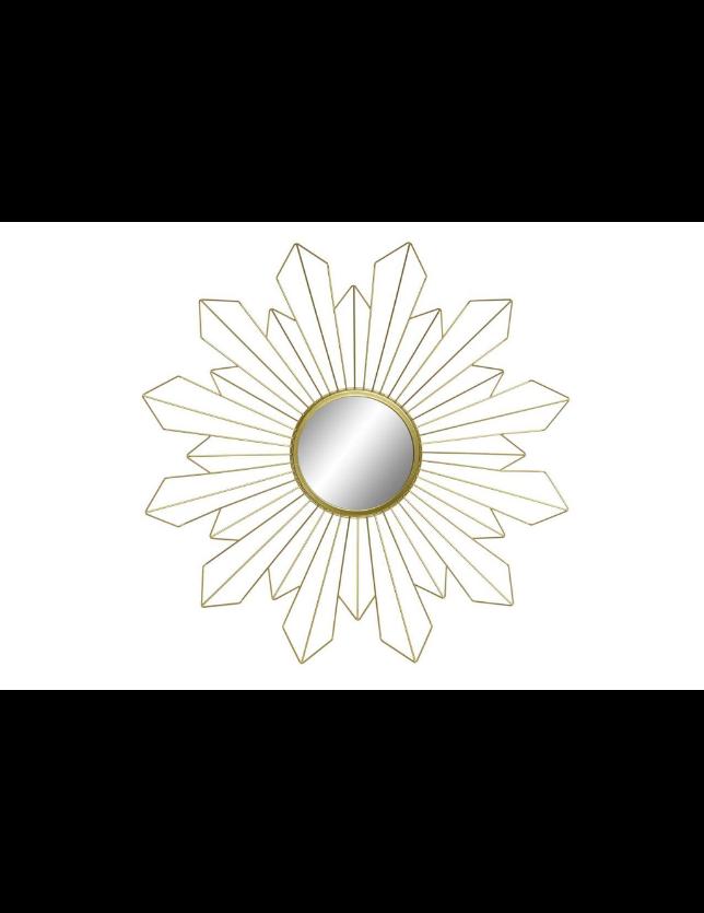 ESPELHO METAL 68*5*68 SOL DOURADO - ES-153705