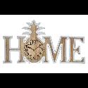 RELOGIO DE PAREDE MDF 51.5*4.5*28 HOME ABACAXI - RE-153308