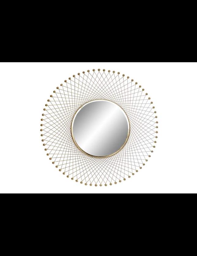 ESPELHO METAL 91*5*91 SOL DOURADO - ES-155862