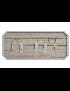 MOLDURA MADEIRA CORDA 45*20*2 PAREDE NATURAL - LD-147485