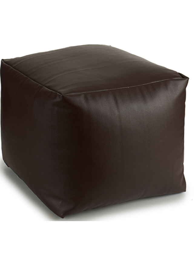 PUFF QUADRADO 45*45 POLIPEL CHOCOLATE - 40319