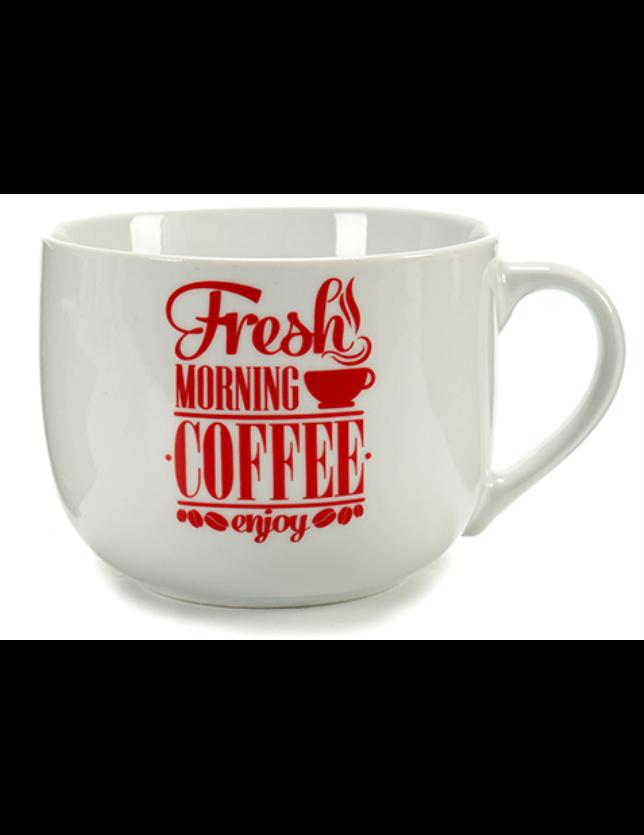 TIGELA ASA COFFEE VERMELHA - MOD. SORTIDO - 55867