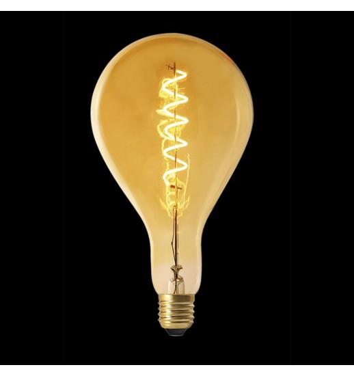 LAMPADA LED PS160 E27 FILAMENTO ESPIRAL 6W M4 - AM0035