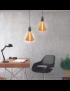 LAMPADA LED PIRAMIDE E27 D14.5*19CM 4W M6 - AM0052