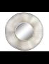 ESPELHO METAL VIDRO 102*7*102 DOURADO - ES-161917