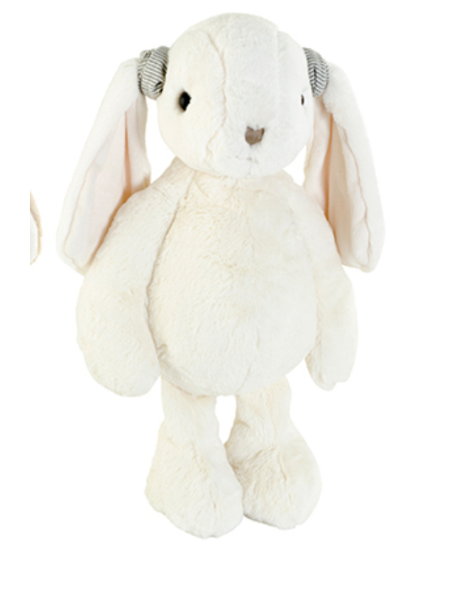FIGURA PELUCHE COELHO THE GREAT KANINI 40CM WHITE