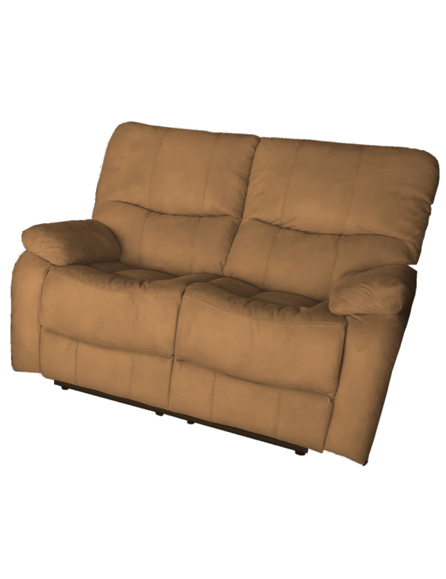 SOFA 2 LUG KUMASI C/2 RELAX NOBUCK 2024-3 ALL HOUSE - RS1891 BROWN