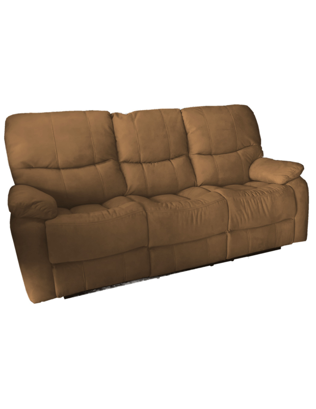 SOFA 3 LUG KUMASI C/2 RELAX NOBUCK 2024-3 ALL HOUSE - RS1891 BROWN