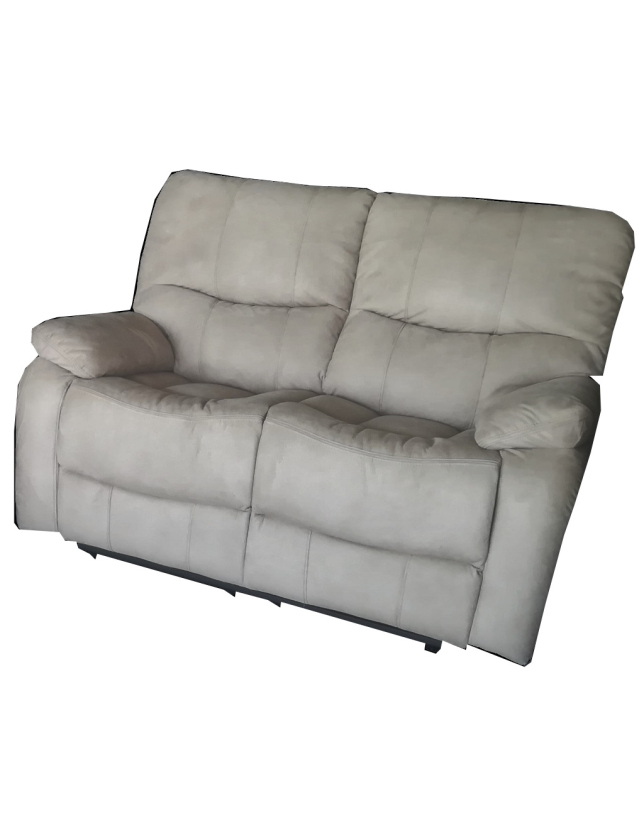 SOFA 2 LUG KUMASI C/2 RELAX NOBUCK SY390A ALL HOUSE - RS1891 BEGE