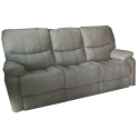 SOFA 3 LUG KUMASI C/2 RELAX NOBUCK SY390A ALL HOUSE - RS1891 BEGE